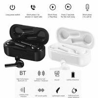 TW08 TWS Bluetooth Earphones Wireless Waterproof Sports Earbud Headphone Headset