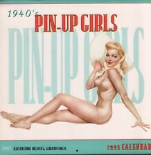 """Vargas 1940's Pin-up Girls 1995 Calendar 12""""x12"""" 051818DBCAL"""