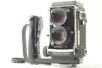 【ALMOST MINT】 Mamiya C220 Pro TLR w/ Sekor 80mm f/2.8 Blue Dot Lens From JAPAN