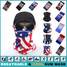 Face Scarf/Mask Neck Gaiter Biker Tube Bandana Cover Cap Headwrap Trump 2020 USA