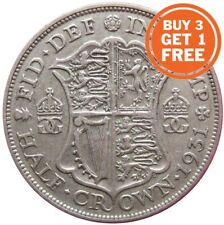 SILVER HALF CROWN GEORGE V COINS CHOICE OF YEAR 1911 TO 1936