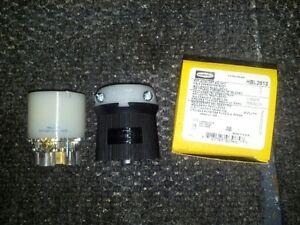 Hubbell 30A 120/208V 3Ø FEMALE Twist-Lock CONN HBL2813  n L21-30 NEW IN BOX