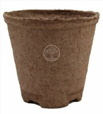 Jiffy 4 inch Round Peat Moss Compostable Seed Starting Pots #144 Qty 100