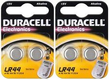 4 Piles bouton LR44 DURACELL V13GA AG13 L1154 A76 KA76 DLC 2020