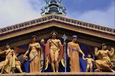 608059 Pediment With Greek Gods Philadelphia Museum Of Art A4 Photo Print