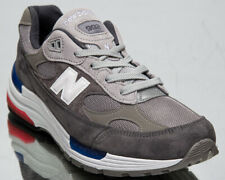 New Balance M992 Made In USA Men's Grey White Athletic Lifestyle Sneakers Shoes