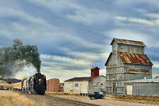 Union Pacific 844 20x30 Canvas Photo picture train engine steam locomotive 4-8-4