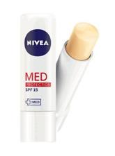 Nivea Lip Care Med Protection Lip Balm SPF15 Calming Protecting Vitamin E 4.8g