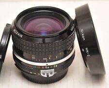 Nikon NIKKOR 28mm Ai f2.8 Prime. Sharp manual focus lens. Read fully