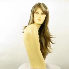 parrucca lunga biondo chiaro mechato rame chiaro e cioccolato TANIA 15613h4