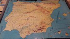 MACRO PUZZLE GEOGRAFICO ESPAÑA PROVINCIAS, DALMAU CARLES. AÑOS 70