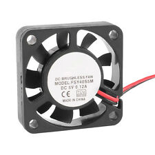 40mm x 10mm 0.12A 2Pin 5V DC Brushless Sleeve Bearing Cooling Fan CT C0T2 H6Q3