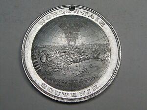 1893 Chicago Worlds Fair Aluminum So-called Dollar Globe Medal Hk-174.  #56