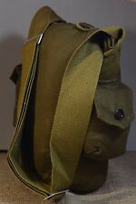 Soviet Russian Army Surplus Canvas Military Shoulder Gas Mask Bag GP-5