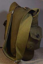 Soviet Russian Army Surplus Canvas Military Shoulder Gas Mask Bag GP-5