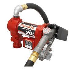 Fill-Rite FR4210G 12v DC Pump, 20 GPM, manual nozzle