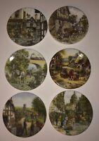 Bradford Exchange Centenary collection miniature plate Bundle Of 6
