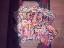 10 Issues of Wrestling AllStars Heroes and Villians 1996 & 1997