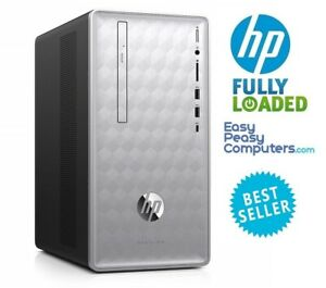 HP Desktop PC Computer 16GB 1TB WIN10 WiFi DVD+RW HDMI Bluetooth (FULLY LOADED)