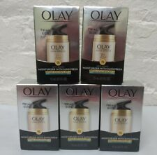 5 Olay Total Effects 7 in 1 Face Moisturizer SPF 15 TRIAL SIZE 0.5 oz each  1/20