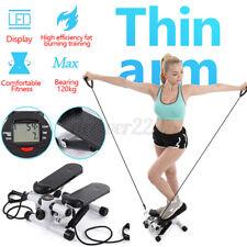 Indoor Aerobic Fitness Step Air Stair Climber Stepper  Machine Equipment ! #