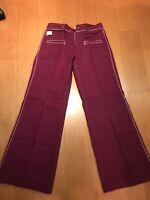 70's Vintage Collectors Velvet Pants  29 & 30 Pants! Spiegel Brand New With Tags
