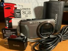 Panasonic LUMIX DMC-ZS30 / DMC-TZ40 18.1MP Digital Camera  + Case +8GB Card