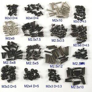 320pcs M2/M2.5/M3 Machine Screws Set for Laptop/Hard Disk/Keyboard/Phone/PC/DIY