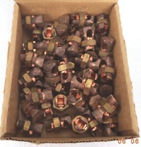 Ilsco Copper Split Bolt Connector (Box of 50), pn IK-2