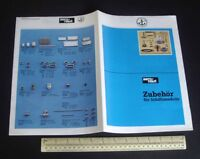 1980s Vintage Catalogue Aero-Naut Model Boat Fittings. Extensive Range