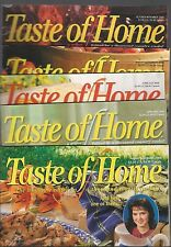 LOT of 5 Issues TASTE OF HOME Magazine ~ 2000-2006