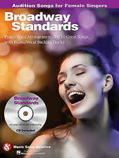 Broadway Standards - Audition Songs for Female Singers: Piano/Vocal/Guitar Arran