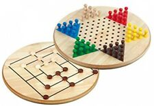 Philos Nine Men's Morris Combination Chinese Checkers Game