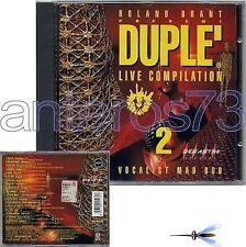 "ROLAND BRANT ""DUPLE 2"" CD MARIO PIU' MAD BOB BISMARK"