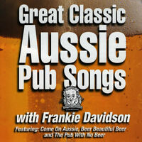 FRANKIE DAVIDSON - GREAT CLASSIC AUSSIE PUB SONGS CD *NEW*