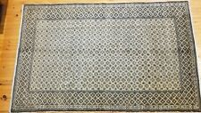 Antique 1900-1930's Cross Patterned Turkish Tribal Rug 5' x 8'