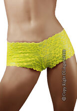 NEW 2PCS  Closer Yellow Lace  Panty Size 14 to 16  XXL 2XL Plus size