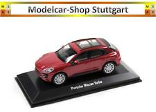 2015 PORSCHE MACAN TURBO ROUGE IMPULSION - WELLY 1:43 - map01995315 - Neuf Usine