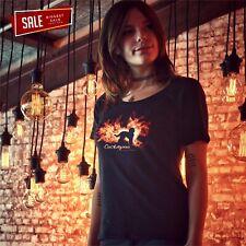 SALE Cockapoo Feuer und Flamme Damen T-Shirt M Hundemotiv Dog Rasse