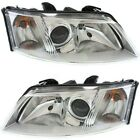 Headlight Set For 2003-2007 Saab 43711 Left and Right With Bulb 2Pc