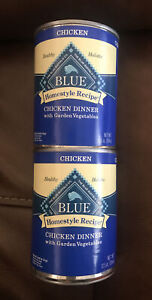 Blue Buffalo Homestyle Recipe Chicken Dinner Wet Food 2 Cans, 12.5 oz Each
