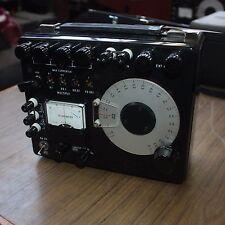 YEW Yokogawa Electric Works 2769 Precision Portable Double Bridge METER + case