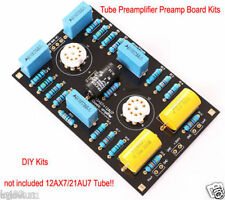 Classic Circuit Tube Preamplifier Preamp Board DIY Kits For 12AX7 / 21AU7 Tube