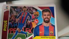 Cromo futbol PIQUE BARCELONA nº 6 liga 2017 2018 panini este faltas