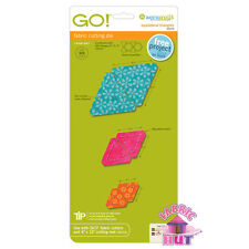 Accuquilt GO! Fabric Cutter Die Equilateral Triangles Big & Baby Quilt 55079