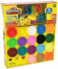 New Play-Doh Super Rainbow Colour Kit 18 Tubs Creative Children's Toy Gift