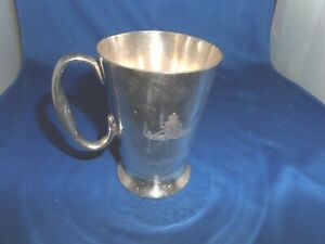 71ST WEST RIDING FIELD BRIGADE ROYAL ARTILLERY PRESENTATION TANKARD C.1900