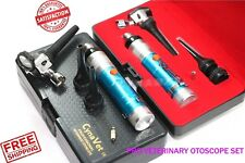 Professional Veterinary Otoscope Set Veterinary Diagnostic Examination Ent