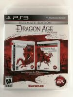 Dragon Age Origins: Ultimate Edition (Sony PlayStation 3, 2010) VG, CIB, TESTED