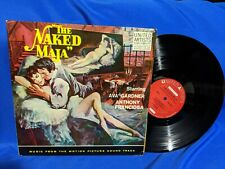"""The Naked Maja"" OST LP United Artists UAL 4031 VG+ VG+ 1959 mono"